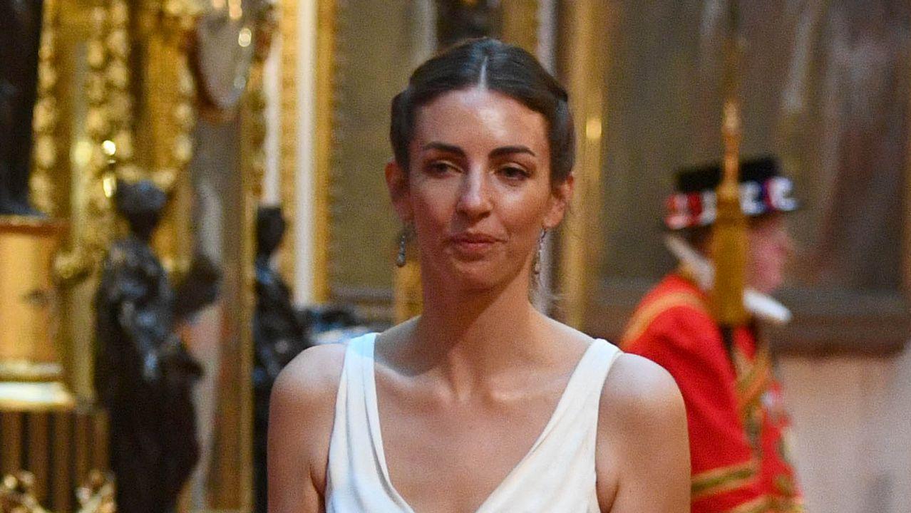 La reina Isabel II abre Buckingham Palace a Donald y Melania Trump
