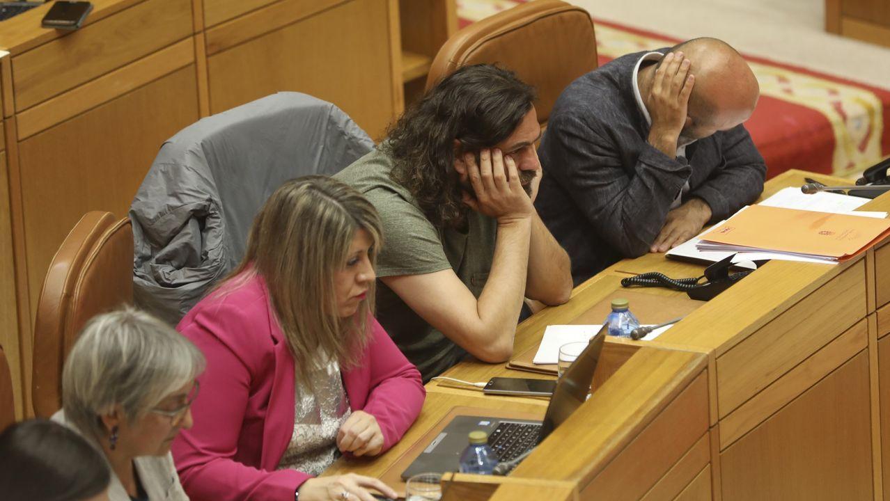 Hace tiempo que no se disimula la tensión en el seno del grupo parlamentario de En Marea.