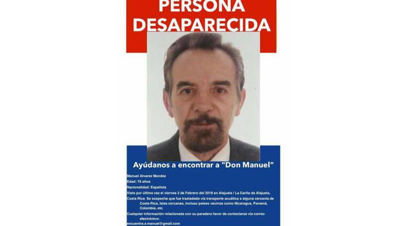 El desaparecido Manuel Álvarez Méndez