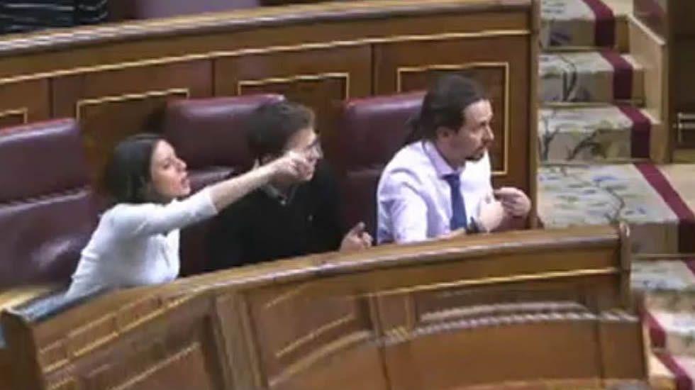 Enfrentamiento de Montoro con Unidos Podemos a cuenta de Fernández Mesa