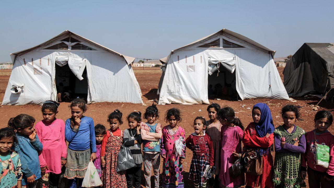 Así estudian los niños en Siria
