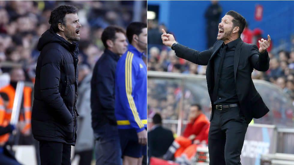 Barça y Atlético buscan su plaza en las semis
