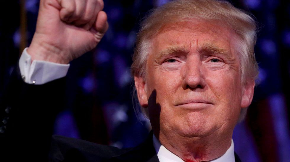 Sale a la luz por primera vez la declaración de la renta de Donald Trump del 2005.Donald Trump