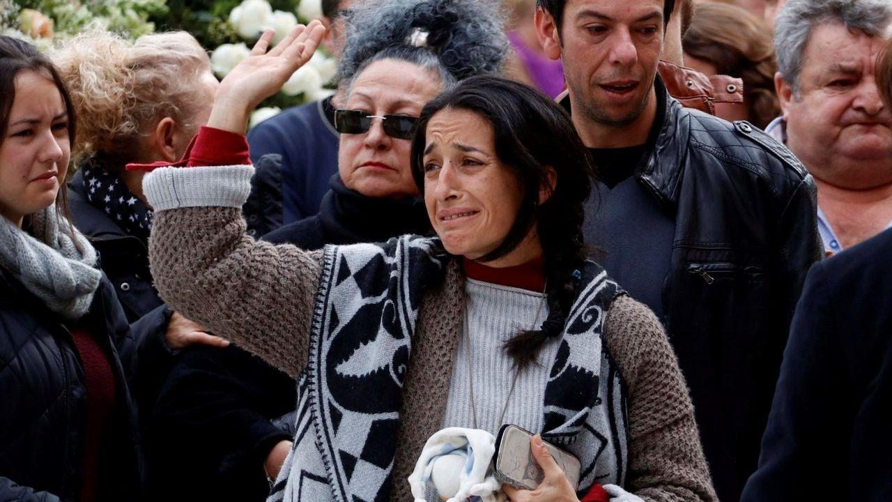 Polémica en Coripe por el linchamiento popular de un muñeco con la apariencia de Ana Julia
