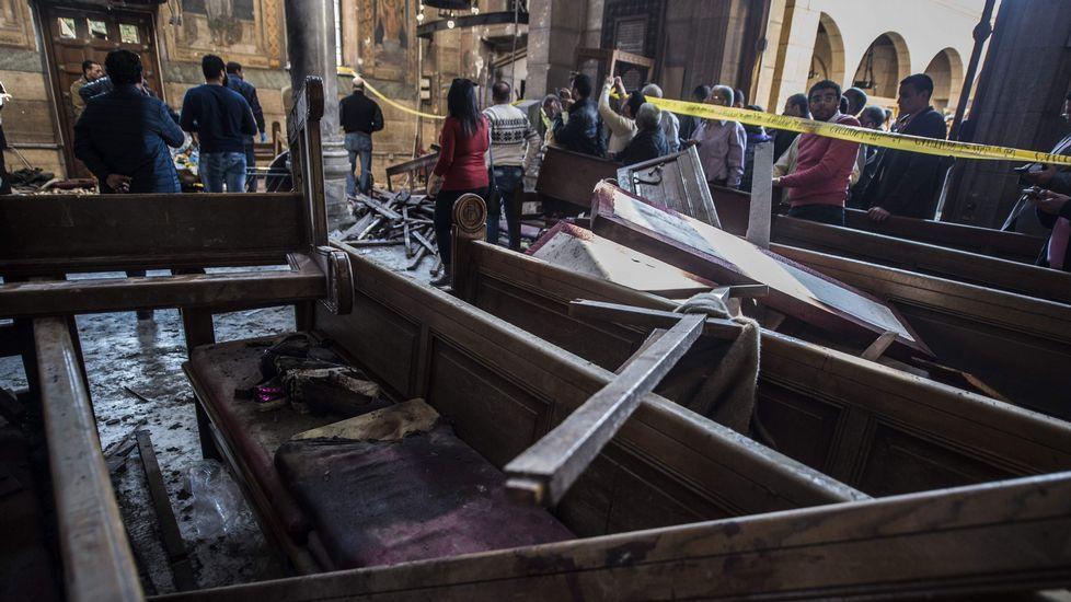 25 muertos en un atentado en El Cairo.