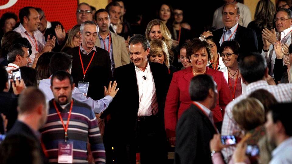 El PSOE cambia de rumbo.Pere Navarro, ayer en su intervención en el consejo nacional del PSC en Barcelona.