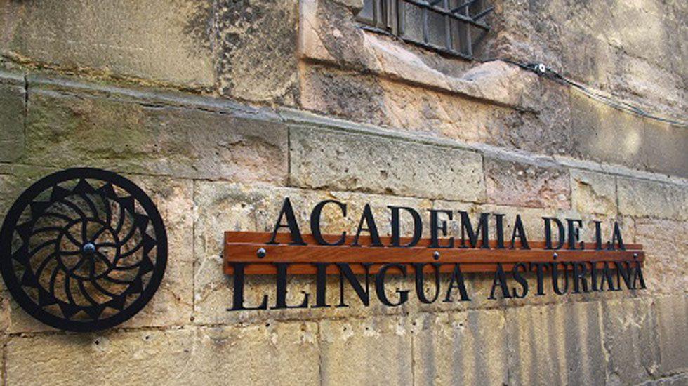 Segundo González (Podemos).Academia de la Llingua