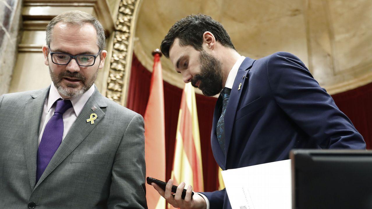 Luis Bárcenas, esta mañana en la Audiencia Nacional