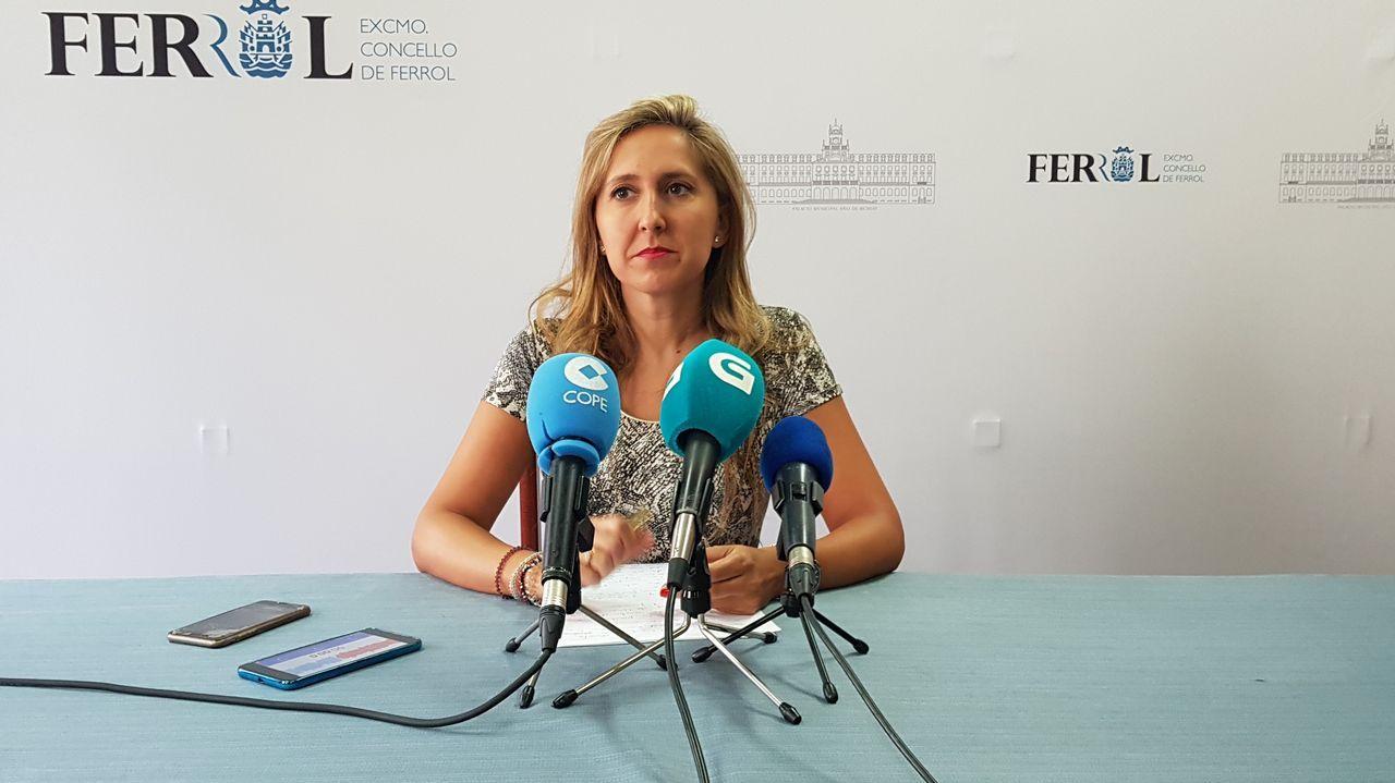 Mercedes Fernández y Augusto Caunedo