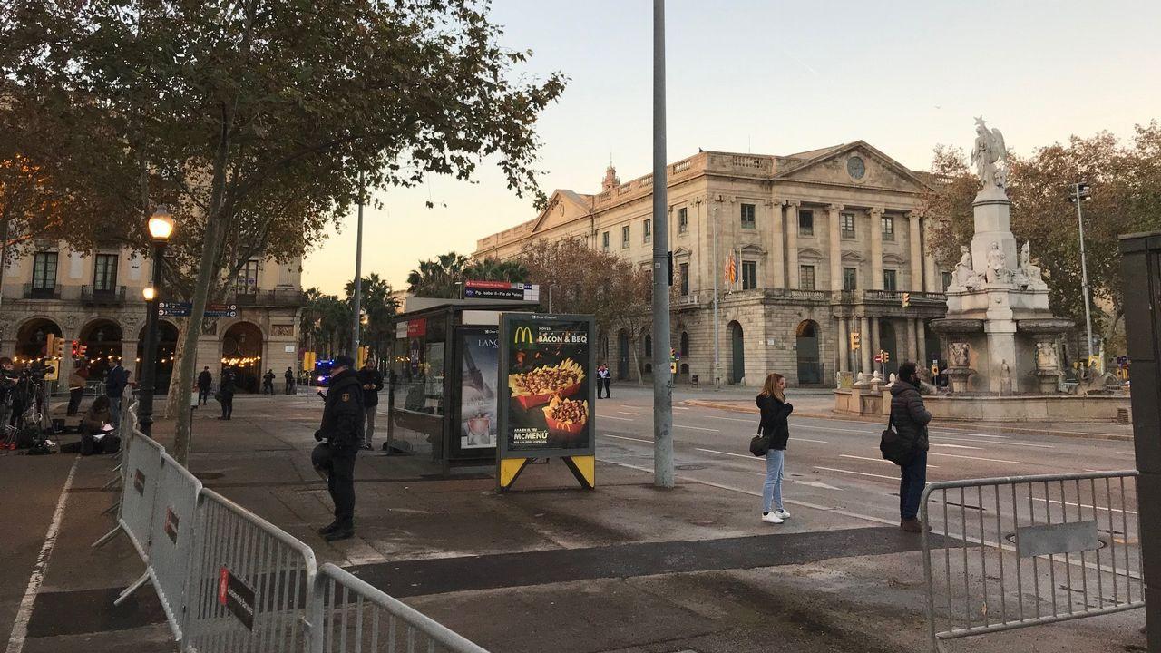 Estación de Sants, en Barcelona