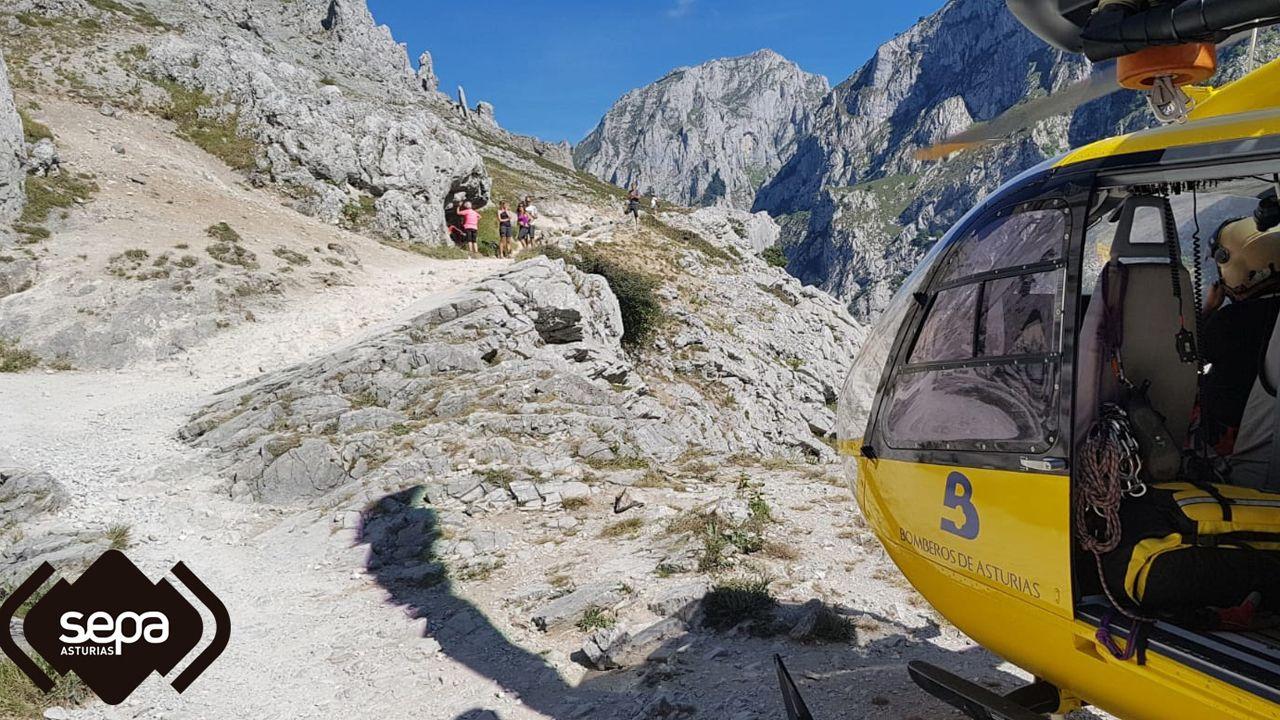.Rescate de montaña en Cabrales