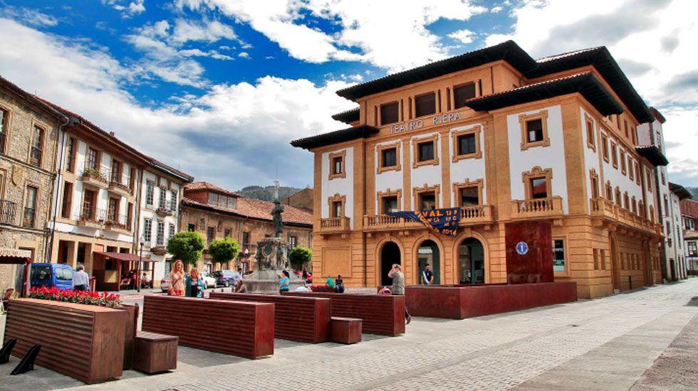 Teatro Riera, en Villaviciosa