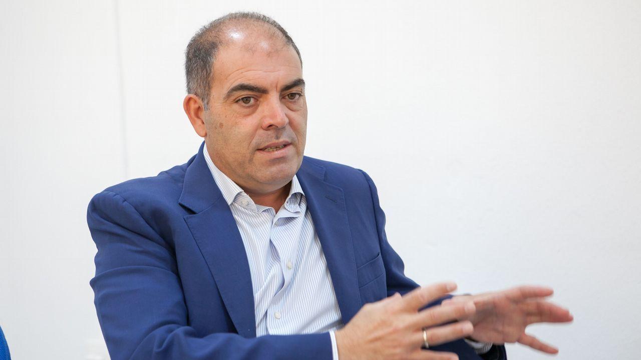 Isidro Martínez Oblanca.Lorenzo Amor, presidente de ATA
