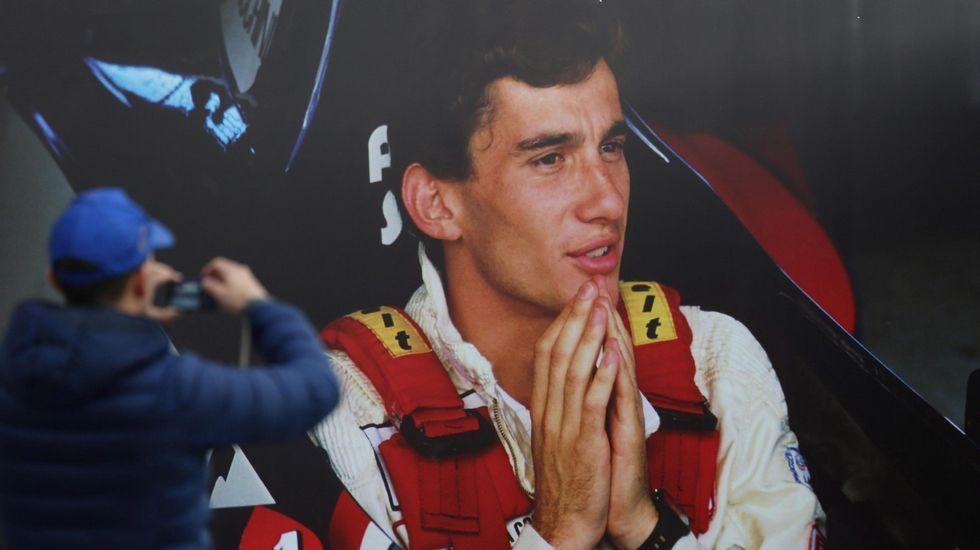Imágenes inéditas del accidente de Ayrton Senna.