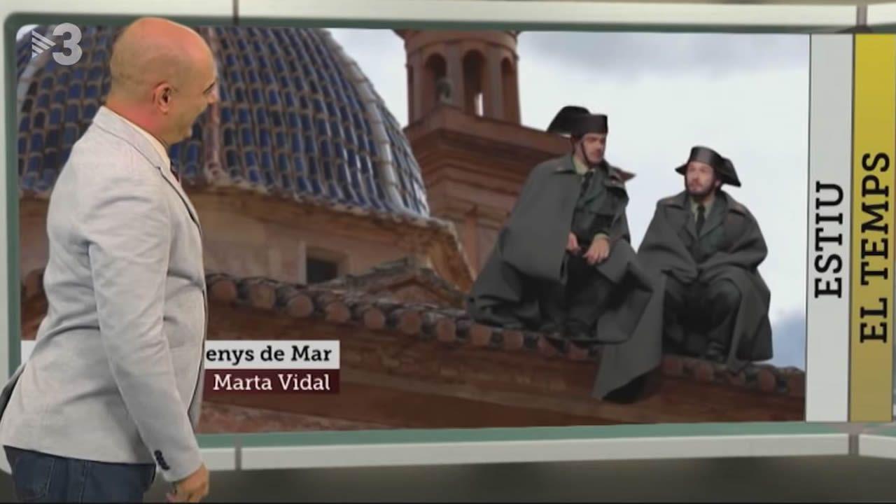Los Mossos cargan contra los CDR que trataban de impedir un acto de Vox.Fotograma extraído del programa FAQS