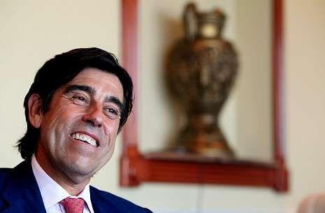 El presidente de Sacyr, Manuel Manrique, dio por segura la finalización de los trabajos.
