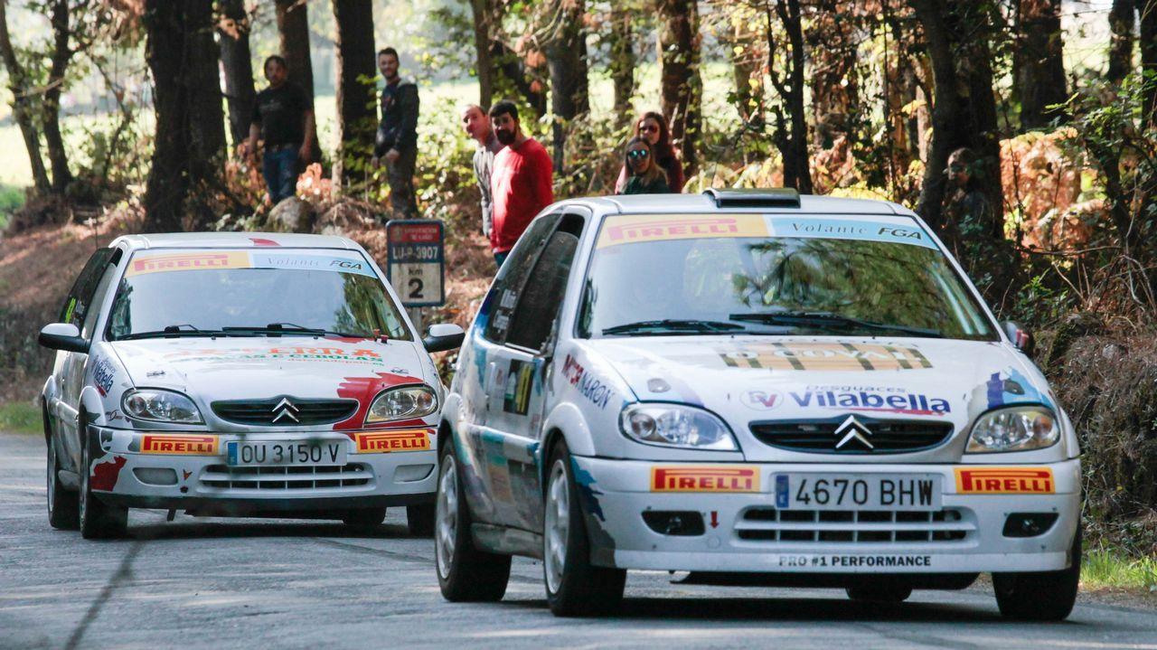 Los pilotos resumen los cuatro primeros tramos del Rali de San Froilán
