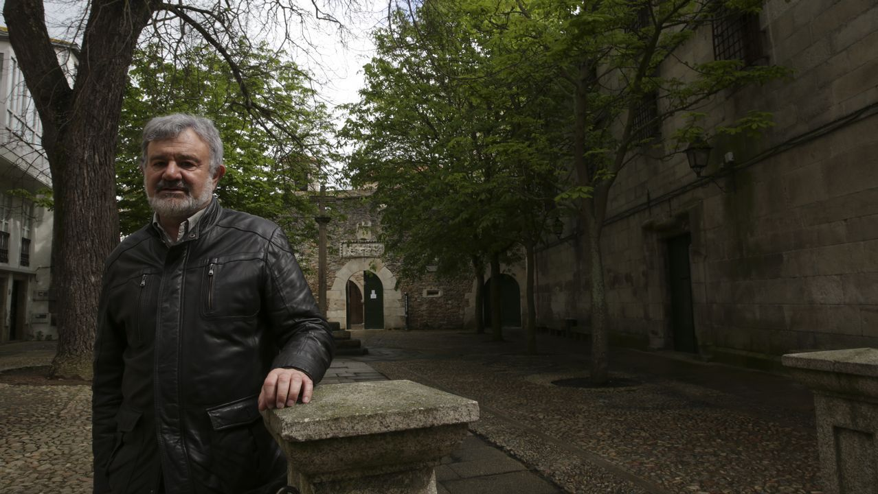 Corazón gallego, vida suiza.Lucas Díaz arquitecto que hizo la rehabilitación de un edificio en calle Tinajas en la ciudad vieja