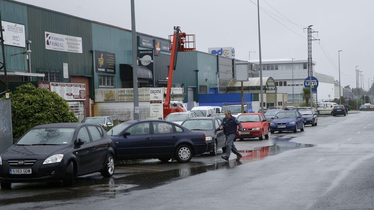 La avenida de Vilagarcía abrirá antes de Nochebuena