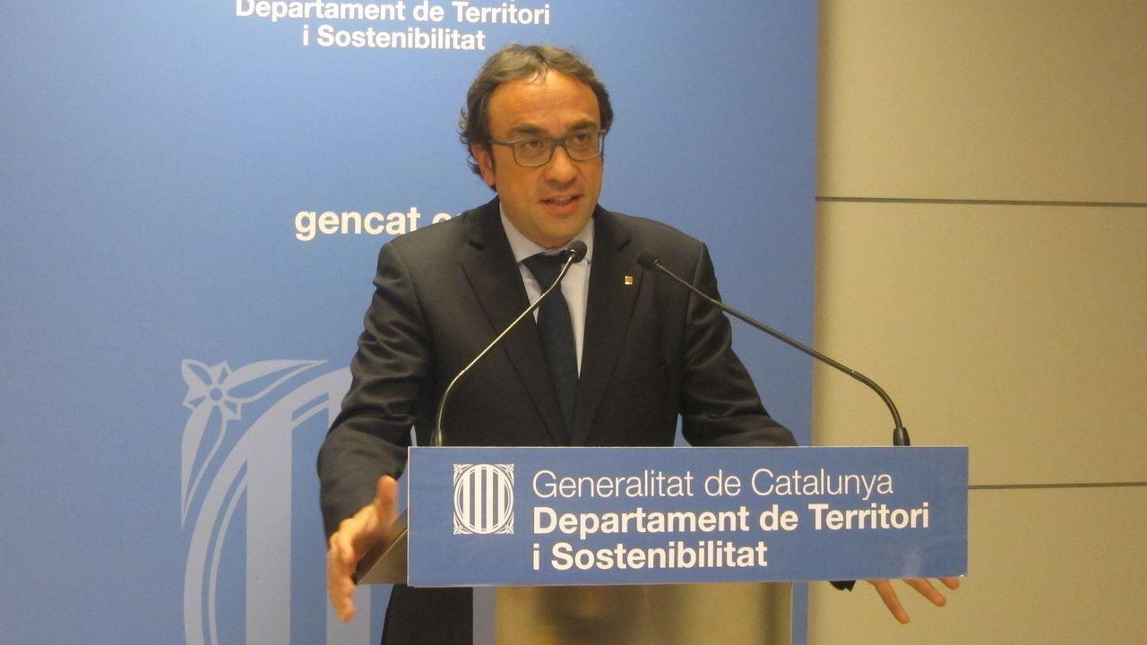 Josep Rull, en una imagen de archivo