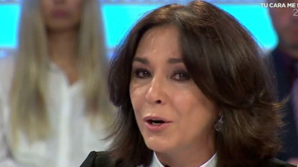 Isabel Gemio rompe a llorar por el caso Nadia