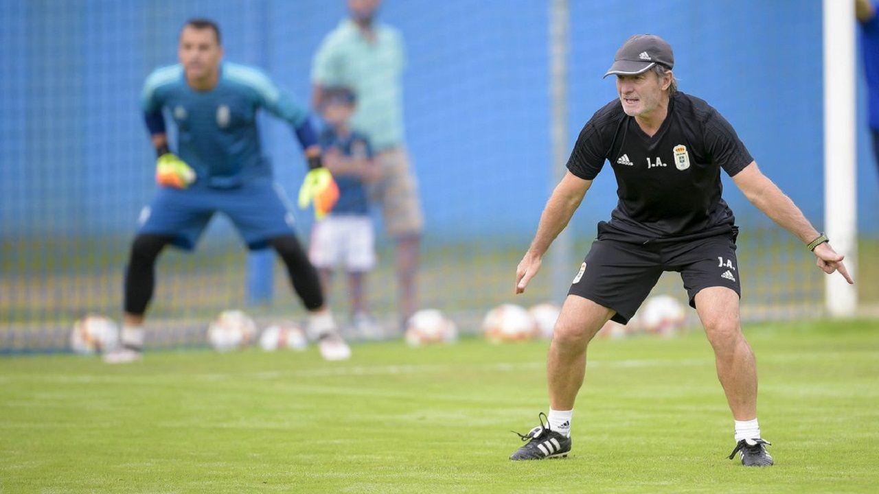 Las mejores imágenes del Zaragoza - Deportivo.Anquela en El Requexón