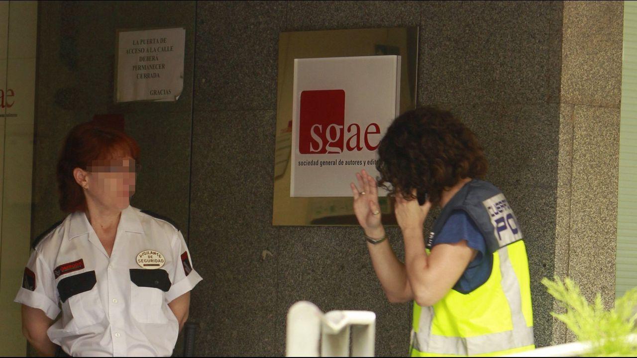 La SGAE, investigada