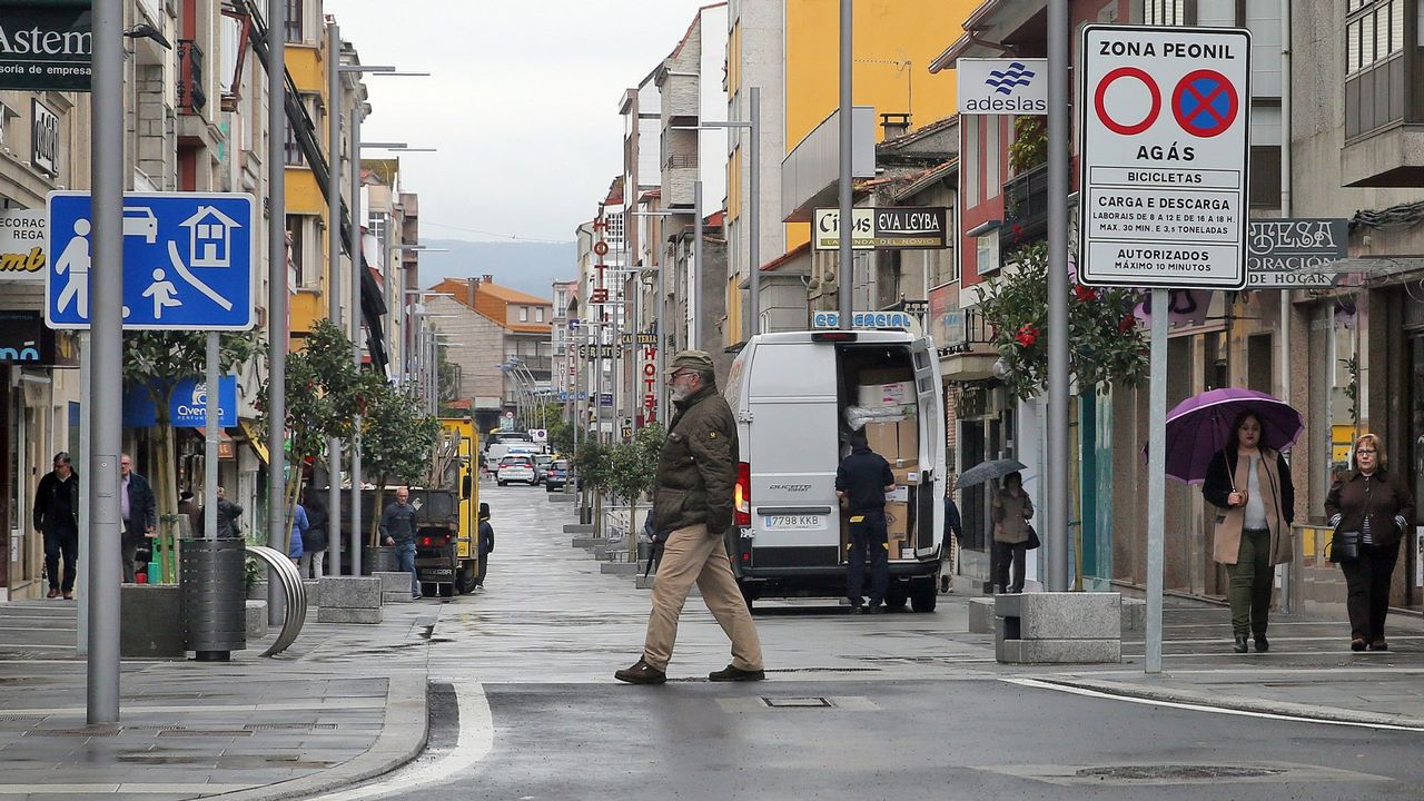 El conductor dio 0.94 en el test de alcoholemia antes de huir desde Pontevedra a Barro