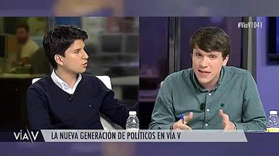 Bronca entre las juventudes del PP y PSOE por... ¡La guerra civil!