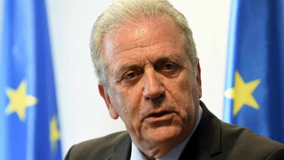 Dimitris Avramopoulos, comisario de Migración