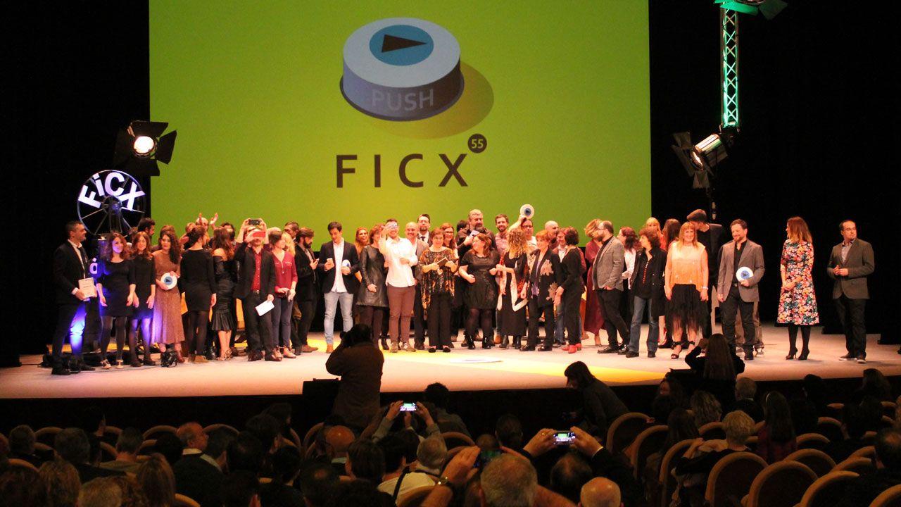 Foto de familia del FICX55