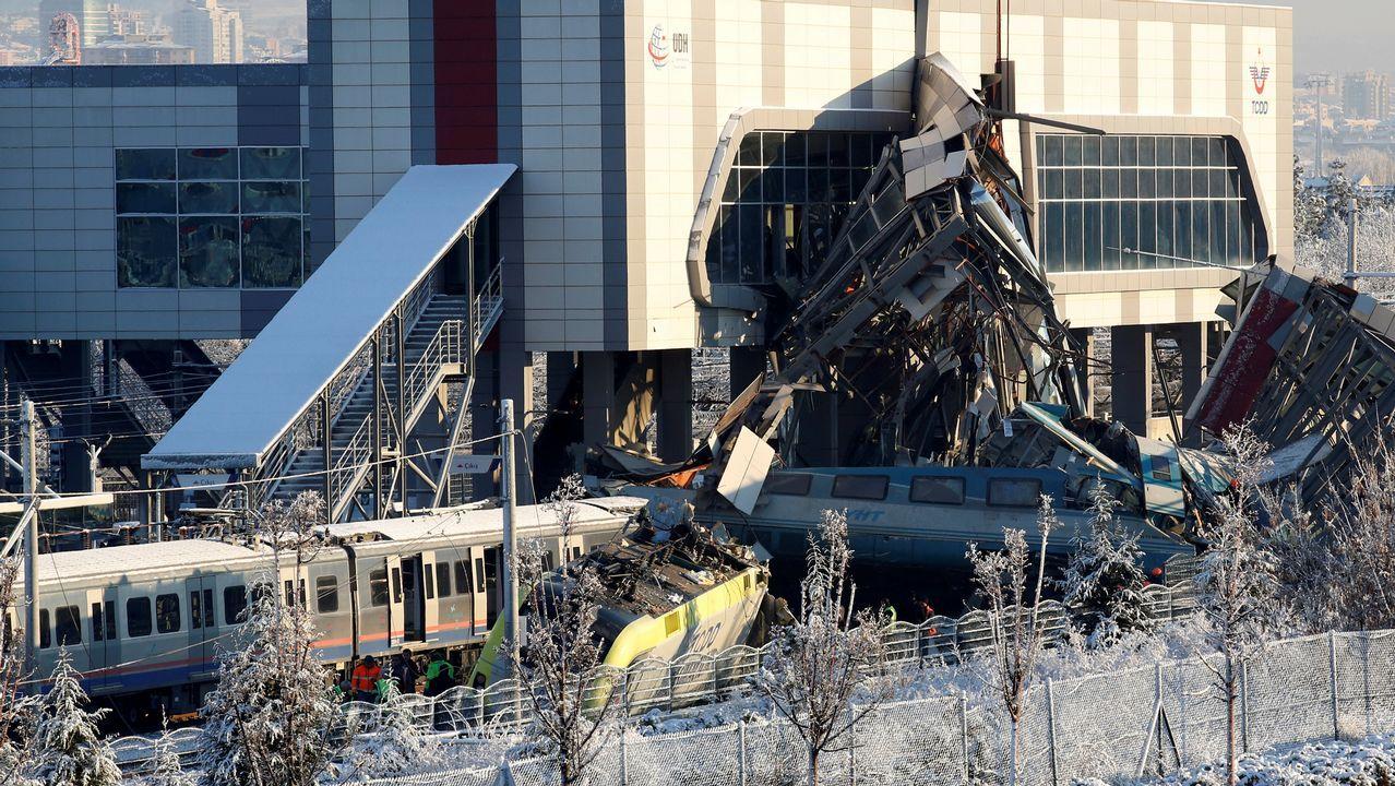 El Cantabria vuelve a casa.Accidente ferroviario en Turquia