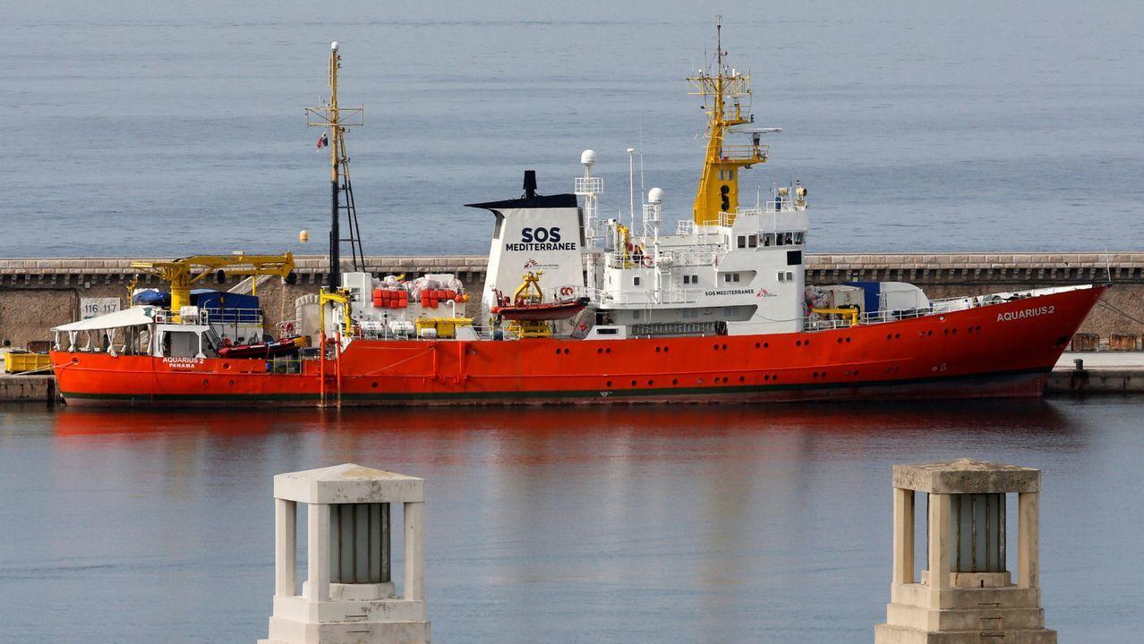 El barco Aquarius en una imagen de archivo