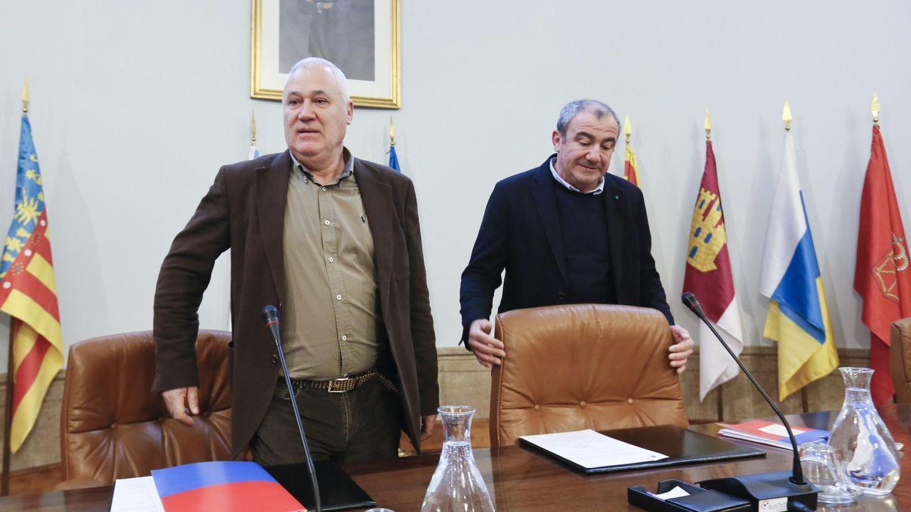 Manuel Martínez, alcalde de Becerreá y diputado discolo del PSOE en la diputación de Lugo