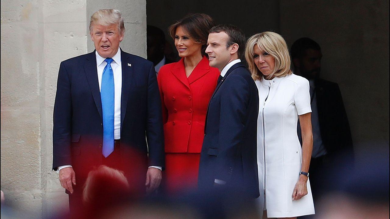 Melania Trump repite moda española