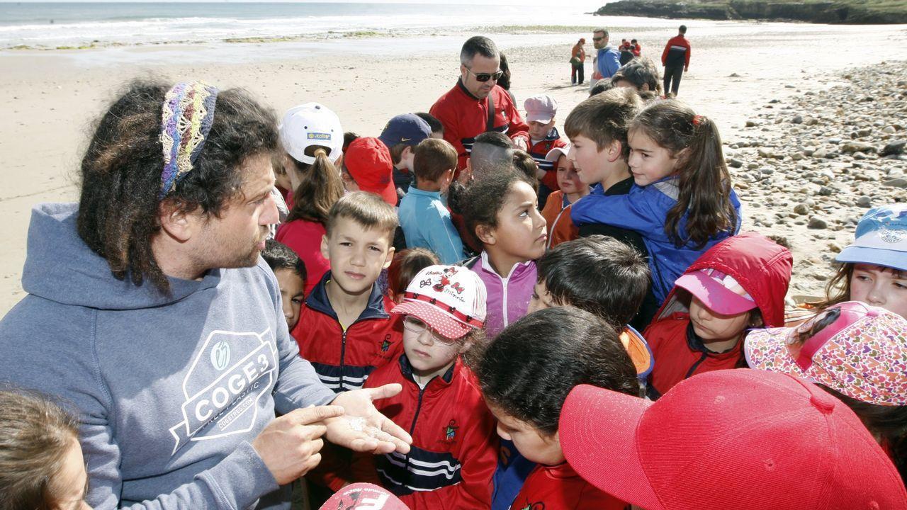 Foto del 2015 de una de las iniciativas puestas en marcha por Coge 3, con Óscar García al frente