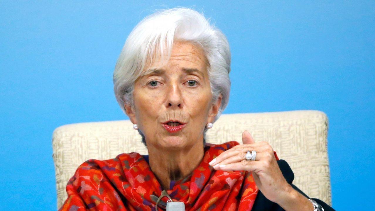 El equipo de Lagarde ha rebajado dos décimas, al 2'5%, la previsión de crecimiento del 2018
