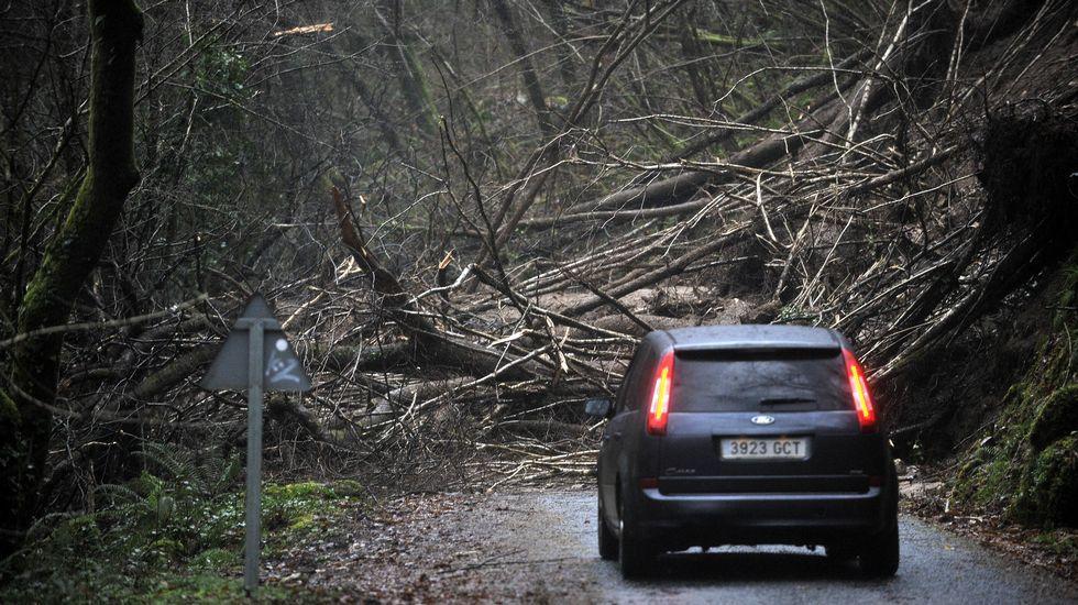 Las mejores fotos del temporal en Galicia