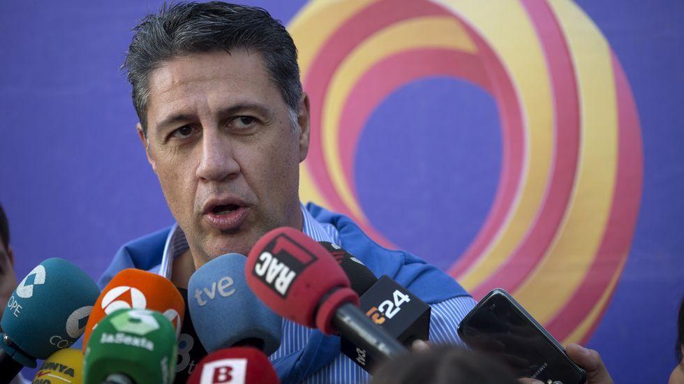 .El líder del PP de Cataluñan Xavier García Albiol