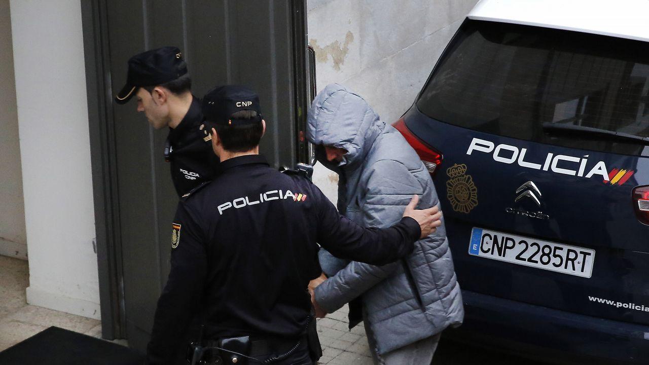 El acusado del doble crimen de Arbo proclama su inocencia