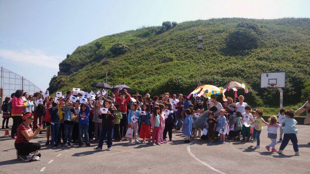 Las protestas en el colegio Honesto Batalón