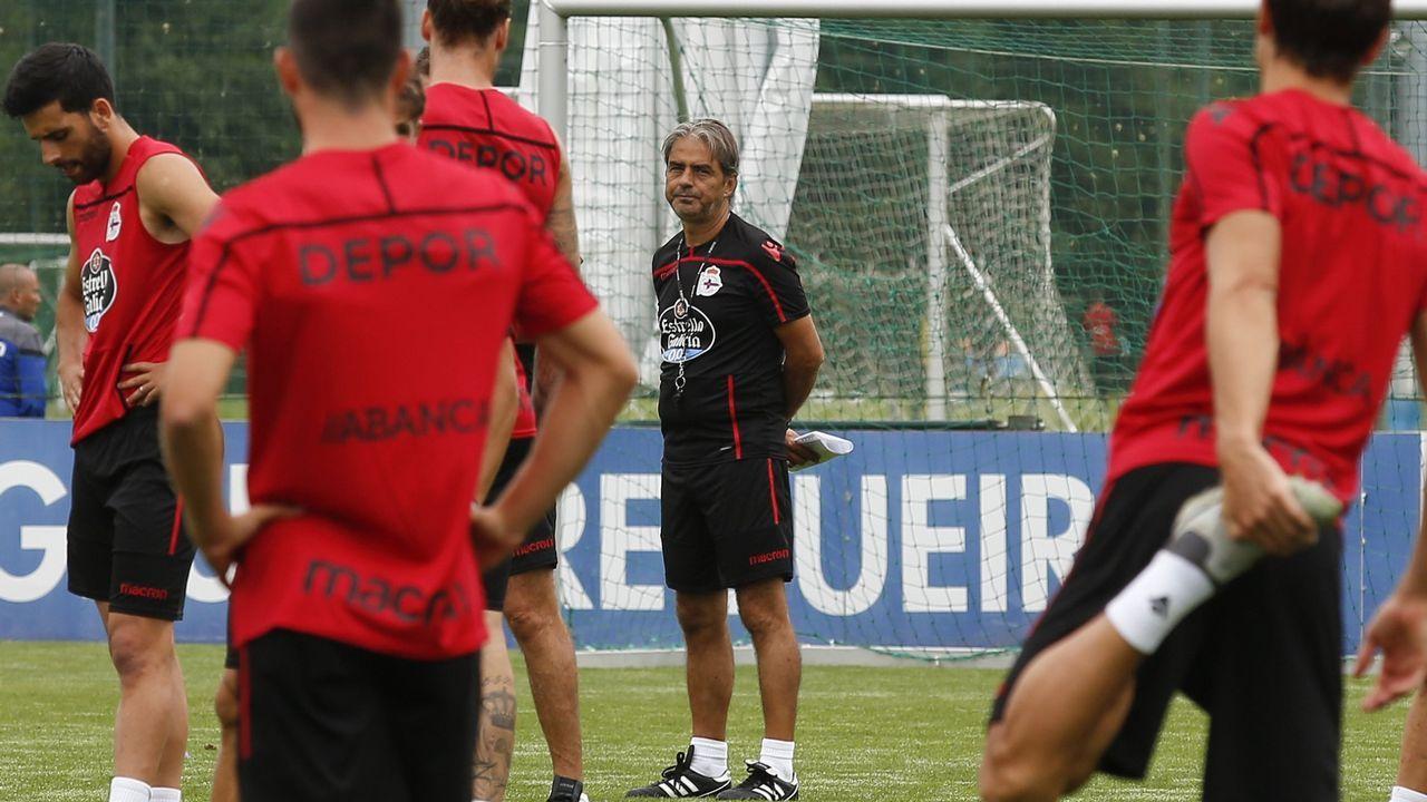 El asturiano Martín López-Vega.Natxo González insiste en que no contempla fichar a un jugador en paro