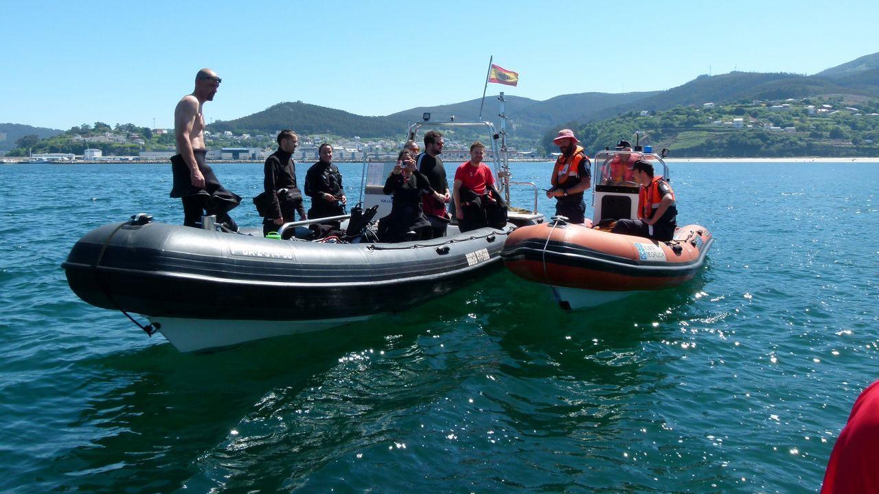 Burela rindió homenaje a su patrona en la procesión marítima