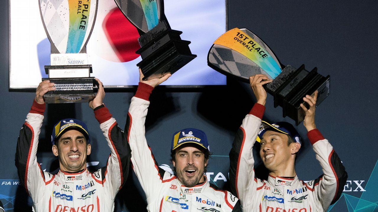 Di Montezemolo con Fernando Alonso