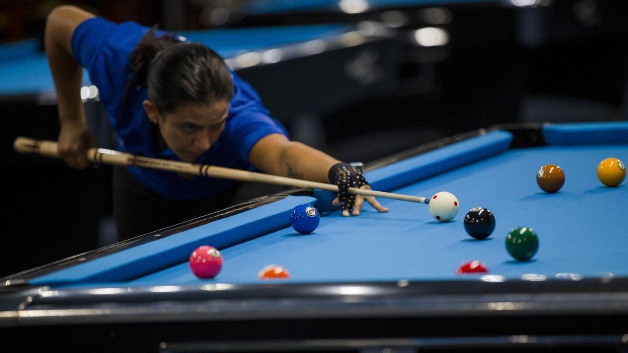 La costarricense Adriana Villar durante los Juegos Centroamericanos que se celebran en Nicaragua