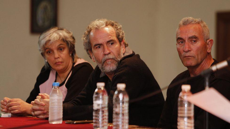.Willy Toledo, en un acto en A Coruña el pasado mes de marzo