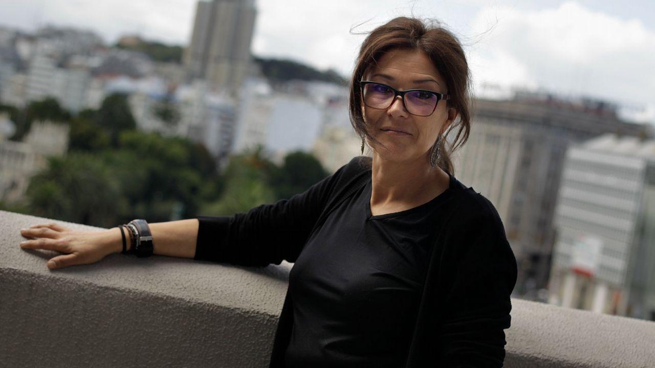 La residencia La Ciudad finalizó su última reforma.Ánxela Franco, diputada de Benestar Social, Educación e Políticas de Igualdade.