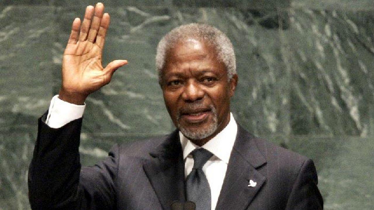 Kofi Annan muere a los 80 años.Álvaro Rengifo, presidente de la Fundación AMREF España