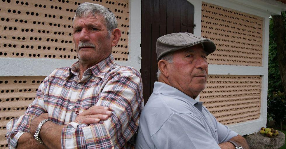 Gil Parrondo con su Óscar.Gil Parrondo con su Óscar