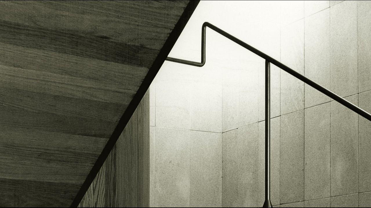 Detalle de la escalera del Museo de Arte Sacro de A Coruña